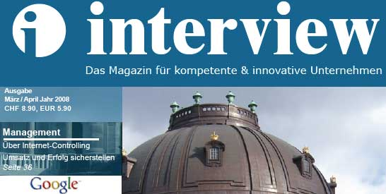 Internet-Controlling Artikel Interview