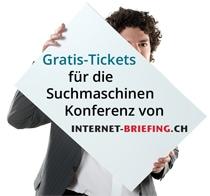 Gratis-Tickets_Suchmaschinen Konferenz
