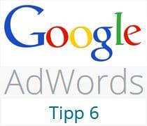 AdWords Tipp 6