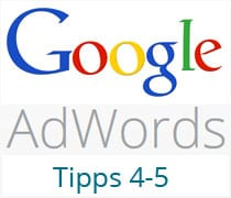 AdWords Tipps 4-5