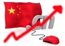 Wachstum im chinesischen Internet-Markt