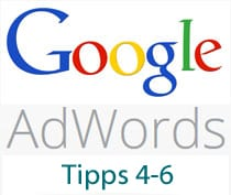AdWords Tipps 4-6