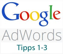 AdWords Tipps 1-3
