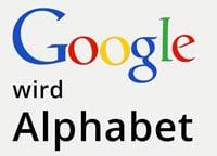Google wird Alphabet