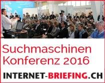 Suchmaschinen Konferenz 2016