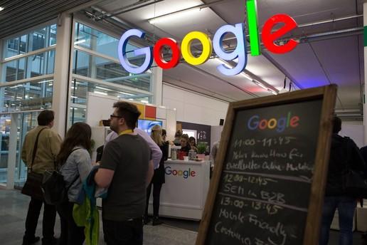 Eingang zum Google Workshop Space