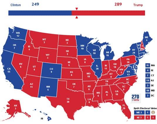 Wahlprognose anhand von Google Daten.